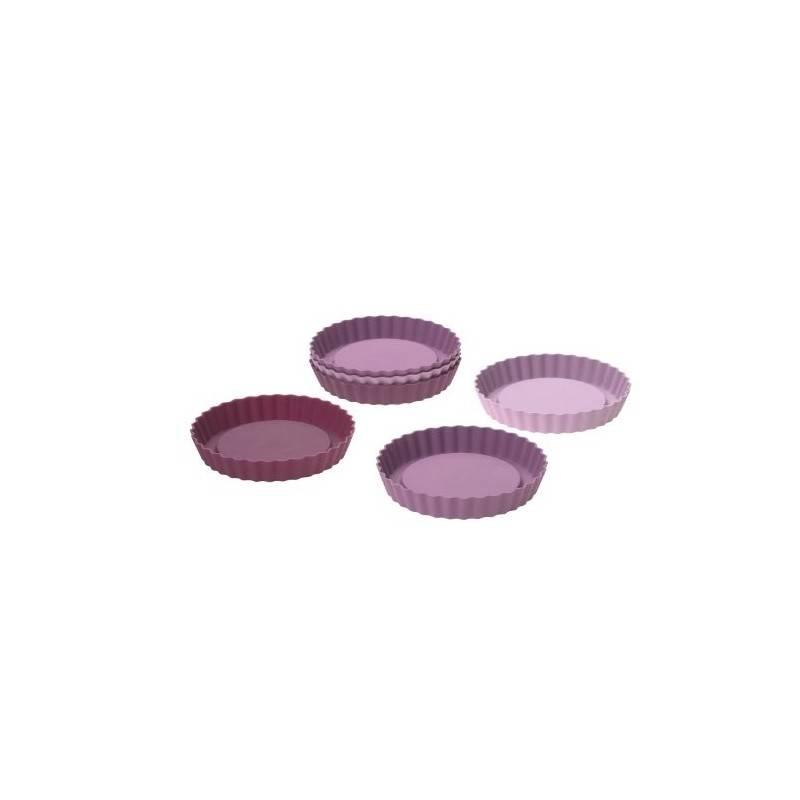 Moldes tartaletas de silicona platino - Lurch - Ecovidasolar.
