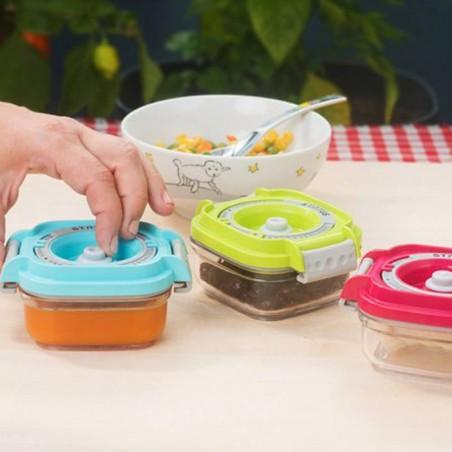 recipiente alimento de bebe al vacío de tritan - Ecovidasolar