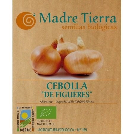 Semillas de cebolla de figueres - Madre tierra - Ecovidasolar
