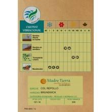 Semillas de col repollo - Madre tierra - Ecovidasolar