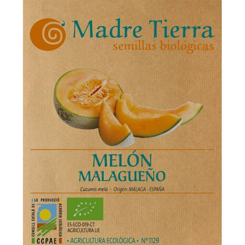 Semillas de melón Malagueño - Madre tierra - Ecovidasolar