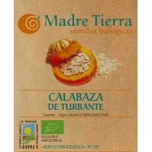 Semillas de calabaza de turbante - Madre tierra - Ecovidasolar