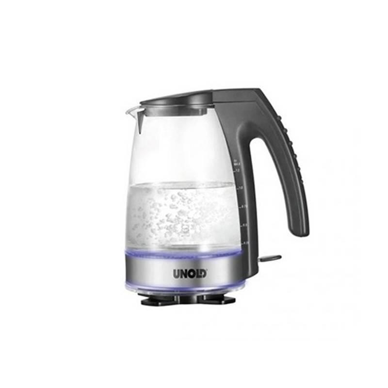Hervidor de agua Blitzkocher Glas de Unold - Ecovidasolar