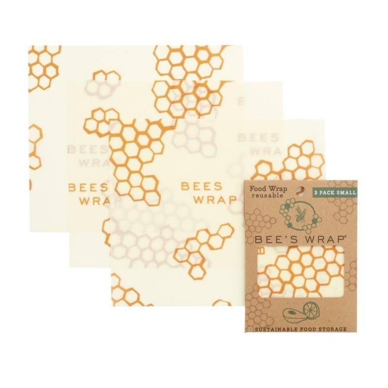 Pack de envoltorios de abeja ecológico - Bee's Wrap - Ecovidasolar