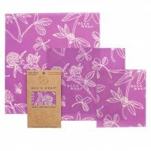 Pack de 3 envoltorios de abeja Mimi's Purple - Eco WareHouse - Ecovidasolar