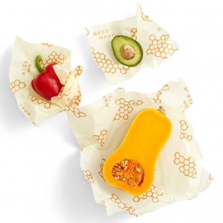 Pack de 3 envoltorios de abeja Starter Set - Bee's Wrap
