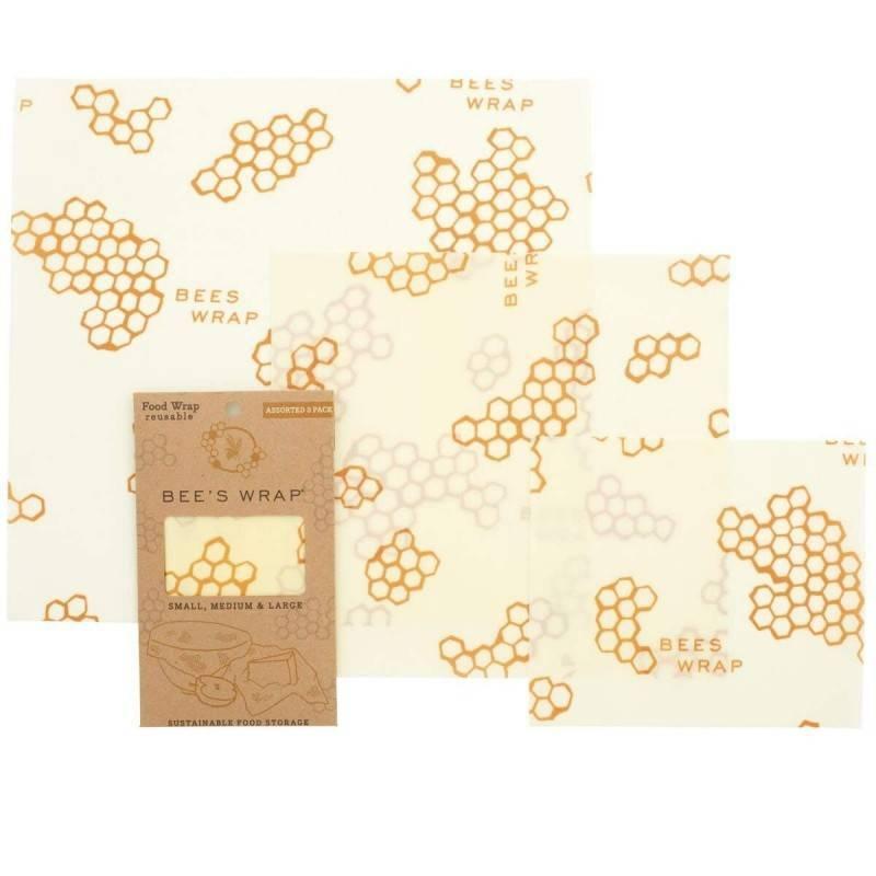 Pack de 3 envoltorios de abeja Starter Set - Eco Ware House - Ecovidasolar