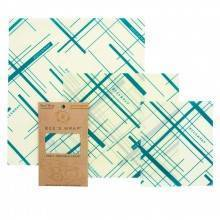 Pack de 3 envoltorios de abeja Everybody's Teal - Eco WareHouse - Ecovidasolar