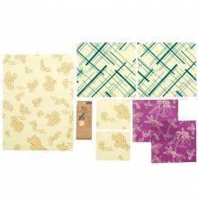 Pack variado de envoltorio de abeja - Eco WareHouse - Ecovidasolar