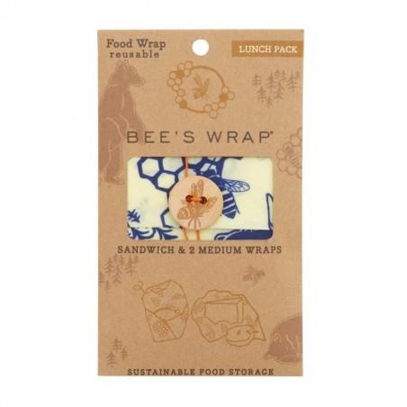 Pack de envoltorios de abeja lunchpack - Eco WareHouse - Ecovidasolar