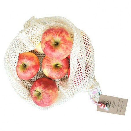 Bolsa de algodón bio para frutas y verduras