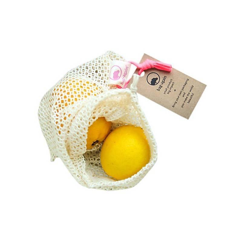 Bolsa de algodón para la fruta y vegetales - Eco Ware House - Ecovidasolar