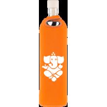 Botella de vidrio neo design Ganesha - Flaska - Ecovidasolar