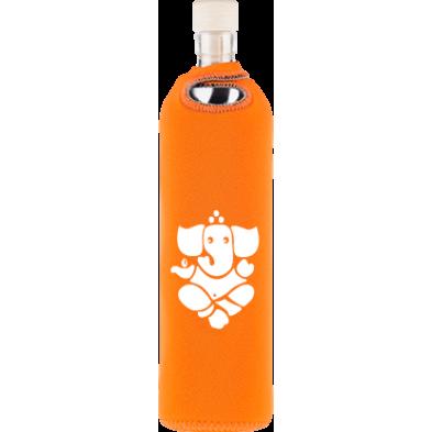 Botella de vidrio neo design Ganesha - Flaska