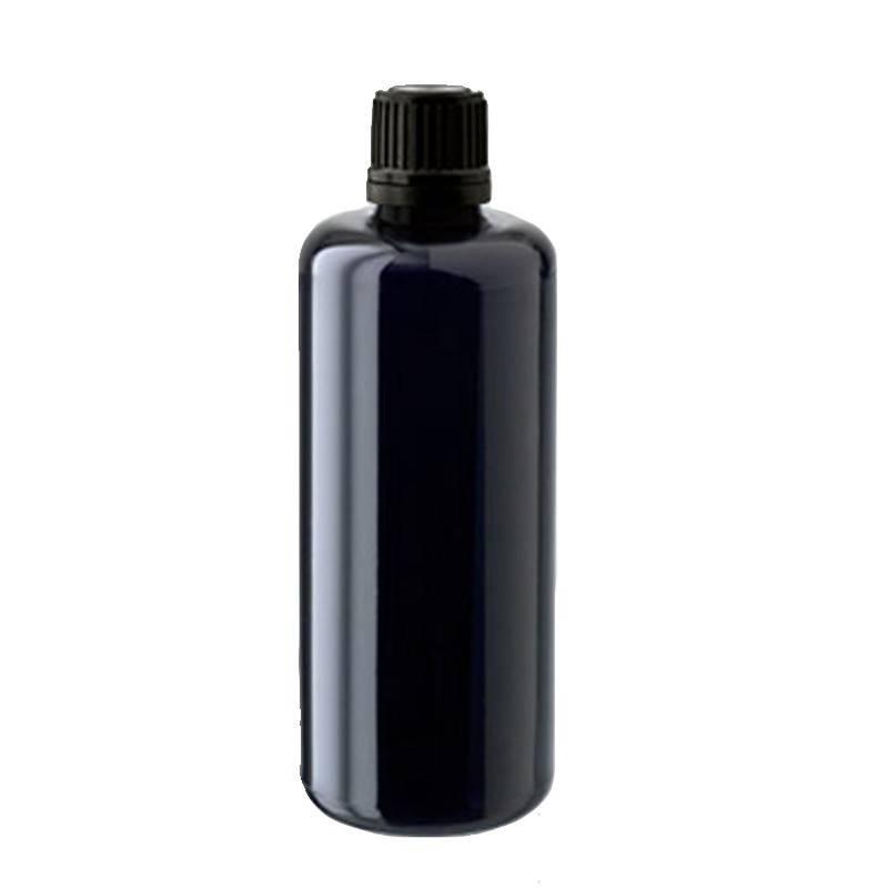 Botella para conservar plata coloidal vidrio violeta - Ecovidasolar