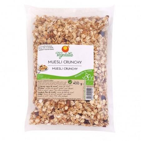 Muesli Crunchy bio sin azúcar Vegetalia