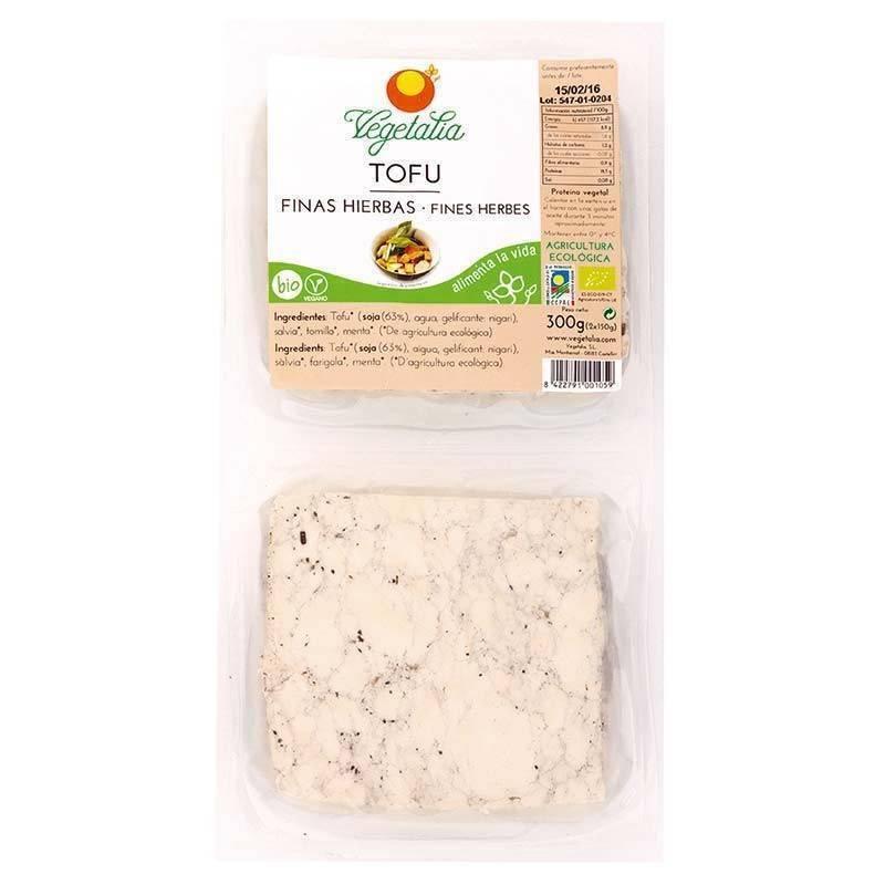 Tofu fresco finas hierbas bio - Vegetalia
