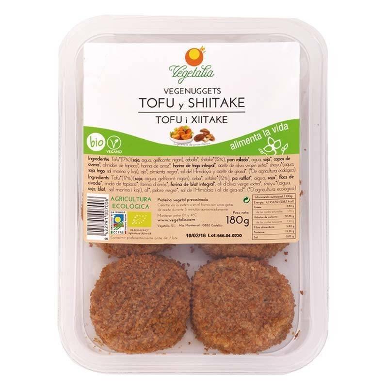 Vegenuggets de tofu y shitake bio - Vegetalia