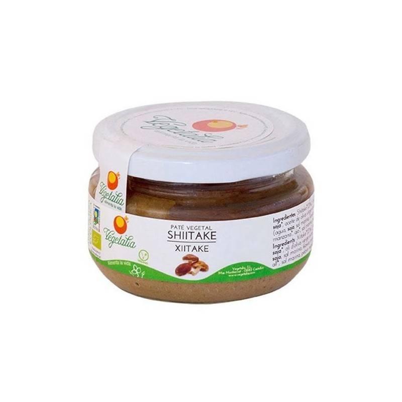 Paté de shiitake bio - Vegetalia