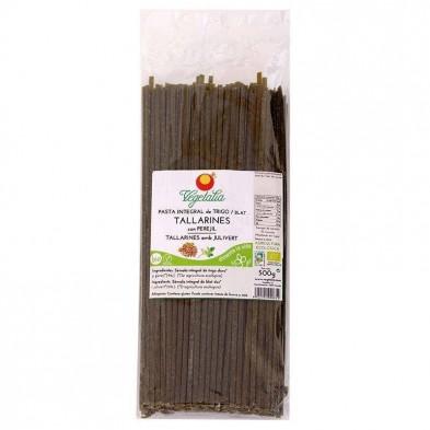 Tallarines con espirulina bio - Vegetalia
