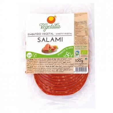 Salami vegetal bio - Vegetalia