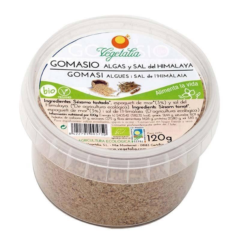 Gomasio con sal del himalaya y algas bio - Vegetalia