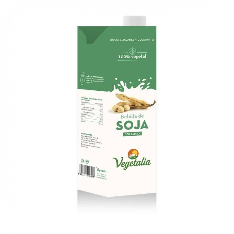 Bebida de soja con calcio bio - Vegetalia