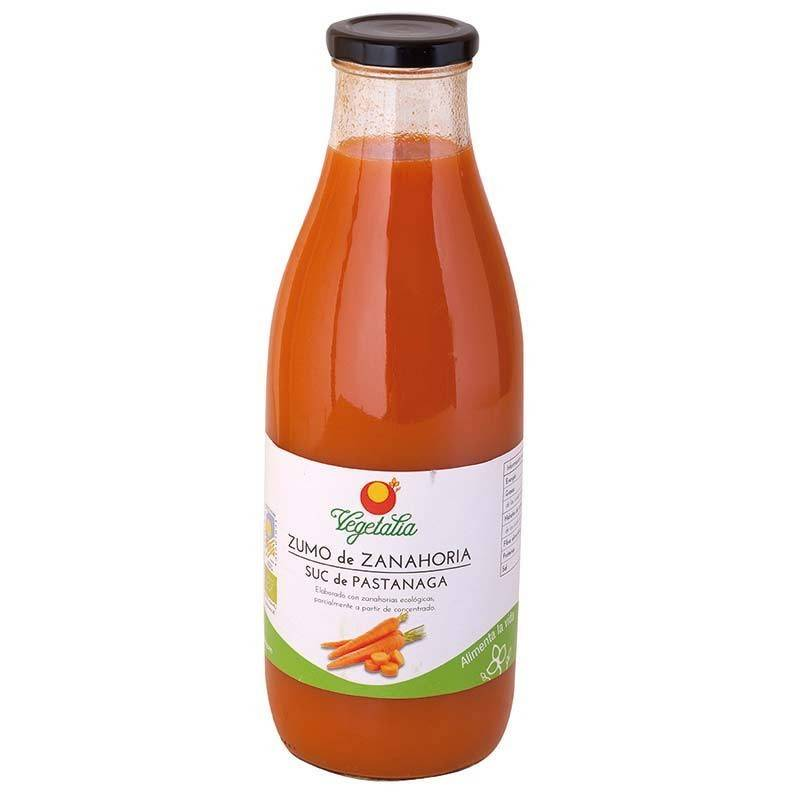 Zumo de zanahoria bio - Vegetalia
