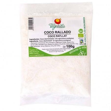 Coco rallado bio - Vegetalia