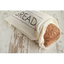 Bolsa de pan de algodón orgánico zero waste - Bread-ecovidasolar