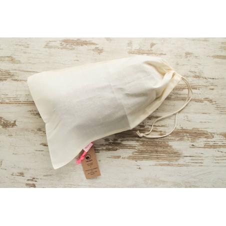 Bolsa compra granel de algodón orgánico - Zero Waste - Ecovidasolar
