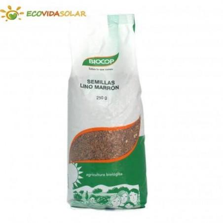 Semillas lino marrón crudo BIOCOP