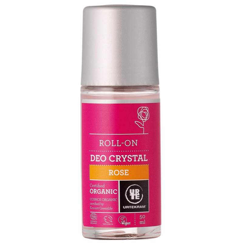 Desodorante roll-on rosas - URTEKRAM - Ecovidasolar