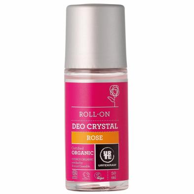 Desodorante roll-on rosas - URTEKRAM - Ecovidasolar