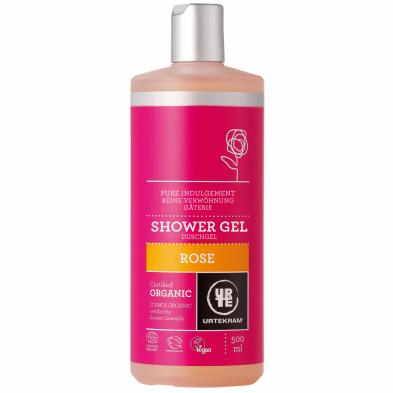 Gel de baño rosas - URTEKRAM - Ecovidasolar