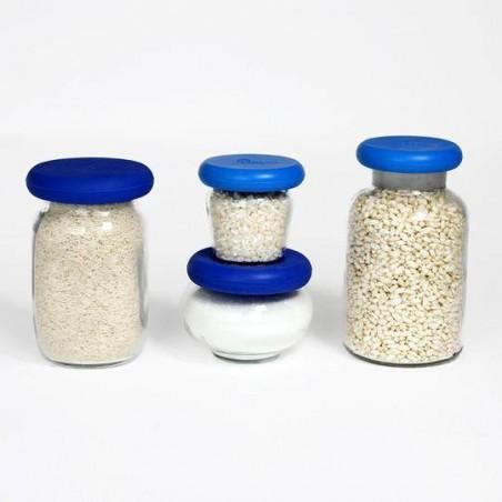 Tapas de silicona para comida y recipientes - Food Huggers - Ecovidasolar