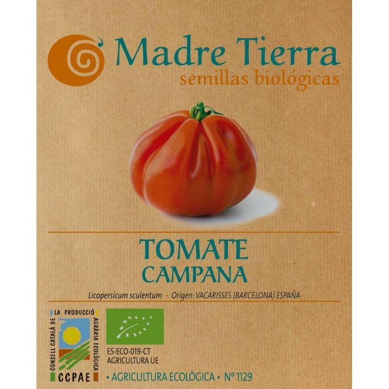 Semillas de tomate campana - Madre tierra - Ecovidasolar