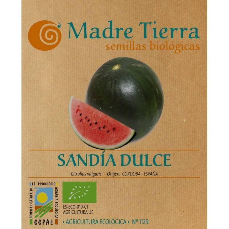 Semillas de sandía dulce - Madre tierra - Ecovidasolar
