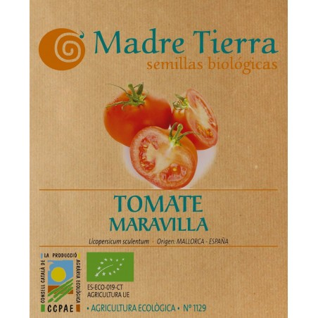 Semillas de tomate maravilla - Madre tierra - Ecovidasolar