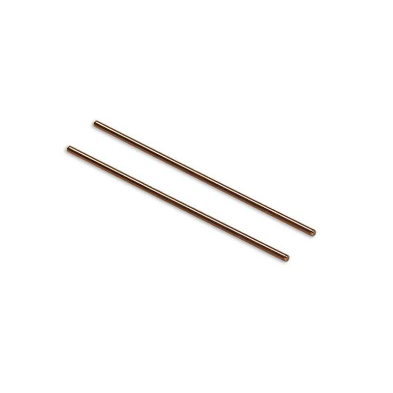Electrodos de cobre al 99% de pureza