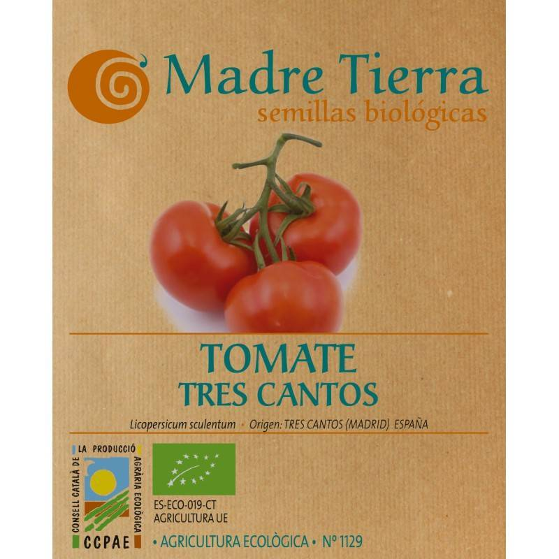 Semillas tomate tres cantos - Madre tierra - Ecovidasolar
