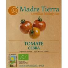 Semilla tomate cebra - Madre tierra - Ecovidasolar