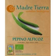 Semillas pepino alficoz - Madre tierra - Ecovidasolar