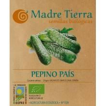 Semillas pepino país - Madre tierra - Ecovidasolar