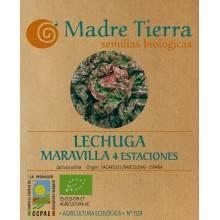 Semillas lechuga maravilla 4 estaciones - Madre tierra - Ecovidasolar