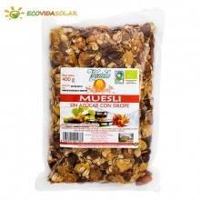 Muesli con sirope sin azúcar bio Vegetalia