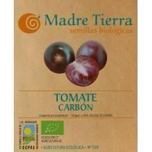 Semillas ecológicas de tomate carbón - Madre tierra - Ecovidasolar