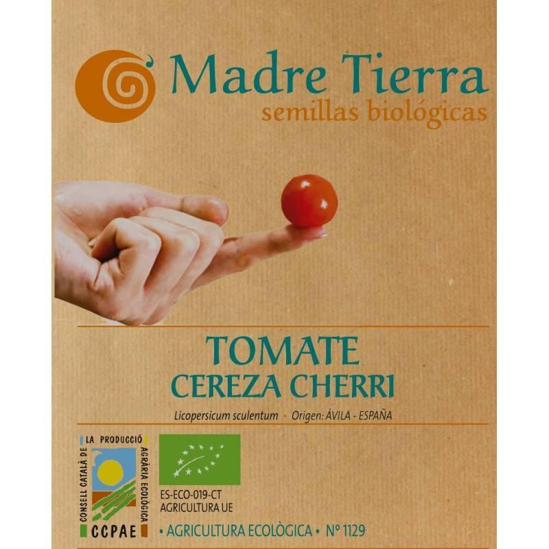 Semilla ecológica de tomate cereza cherry - Madre tierra - Ecovidasolar