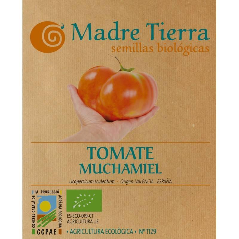 Semillas ecológicas de tomate muchamiel - Madre tierra - Ecovidasolar