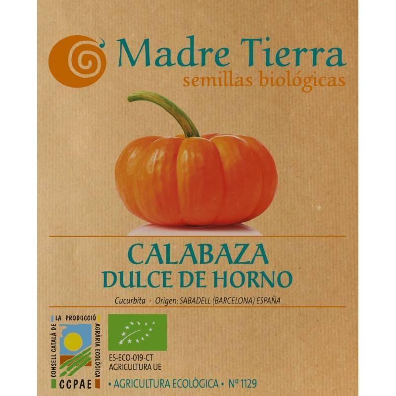 Semillas calabaza dulce de horno - Madre tierra - Ecovidasolar